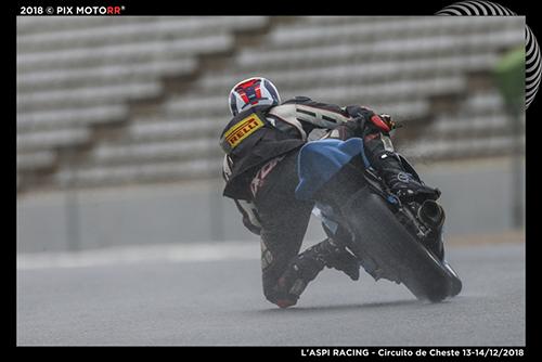 Baptiste Felgerolles, pilote moto sponsorisé par Atrihom