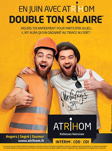 En juin, avec Atrihom double ton salaire