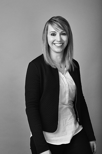 Portrait d'Angélique, assistante de gestion chez Atrihom