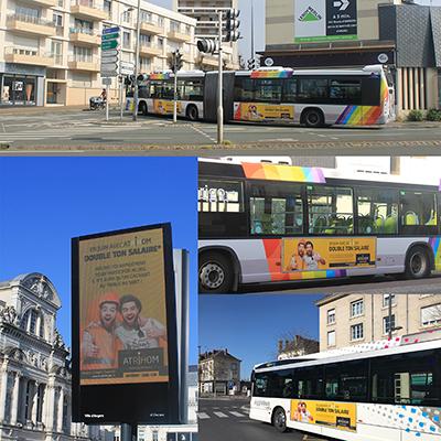 Campagne d'affichage Atrihom