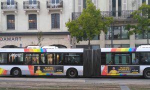 Campagne Atrihom sur les bus d'Angers