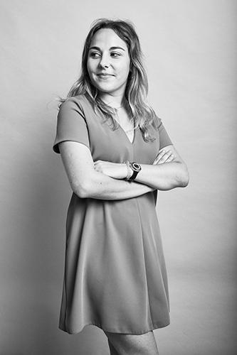 Mathilde, chargée de recrutement sur Atrihom Consulting