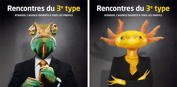 Campagne de communication 2020 Atrihom : nos deux protagonistes