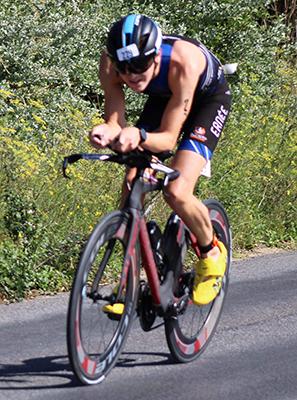 Benoît Bélier, triathlète sponsorisé par Atrihom