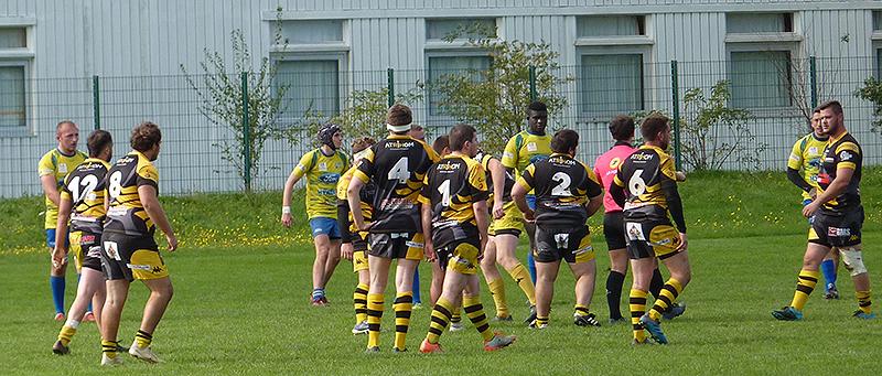 Atrihom est mécène du club de rugby du RCHA à Segré