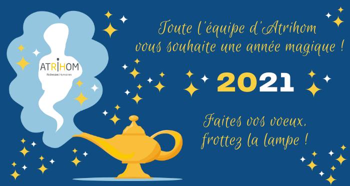 Atrihom vous souhaite une très belle année !