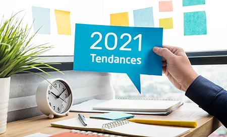 Tendances 2021 du marché de l'emploi